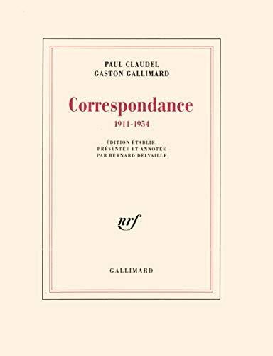 Correspondance: (1911-1954): Paul Claudel