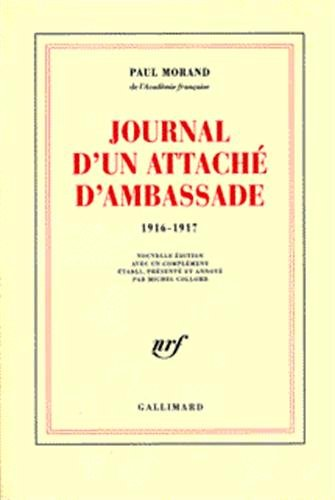 9782070741625: Journal d'un attaché d'ambassade (1916-1917) (French Edition)
