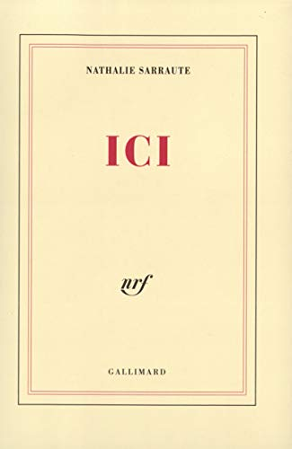 9782070742448: Ici (French Edition)
