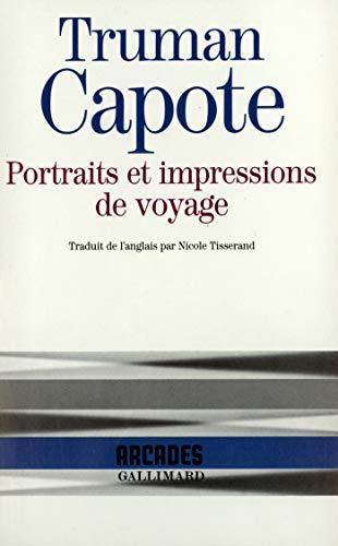 Portraits et impressions de voyage [Poche] [Oct