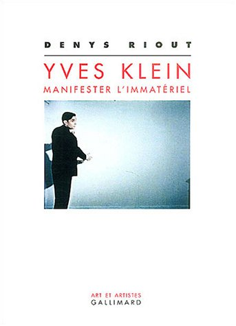 Yves Klein (French Edition): Denys Riout