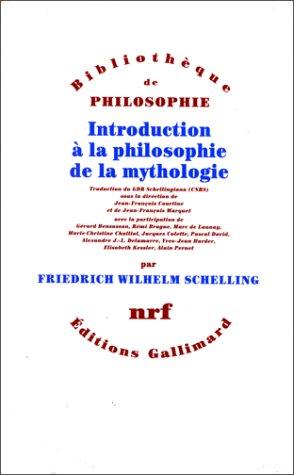 Introduction à la philosophie de la mythologie: Schelling, F. W. J. (Friedrich Wilhelm ...