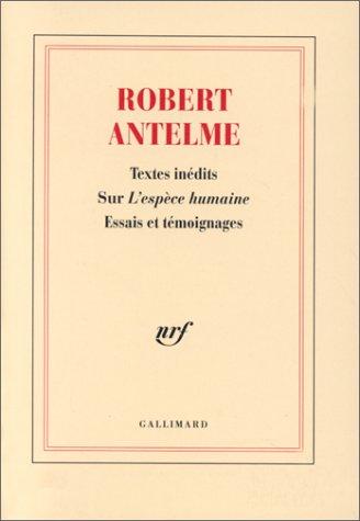 9782070746149: Textes inédits sur l'Espèce humaine (French Edition)