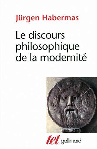9782070746323: Le discours philosophique de la modernit�: Douze conf�rences