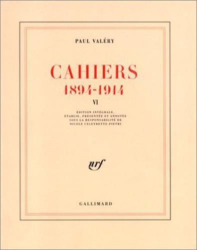 Cahiers: Valéry, Paul