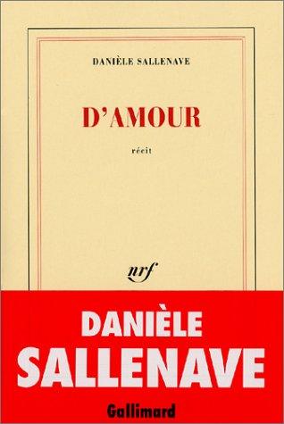 9782070748945: D'amour