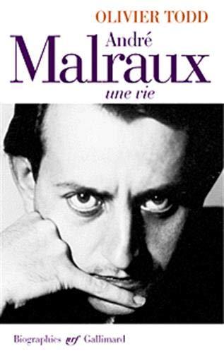 9782070749218: Andre Malraux: Une vie