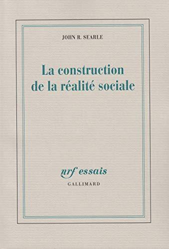 9782070749348: La construction de la réalité sociale