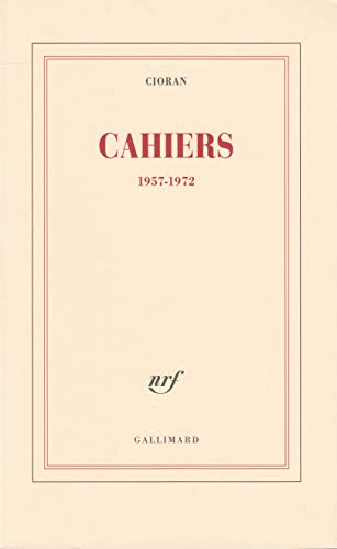 9782070749355: Cahiers, 1957-1972 (French Edition)