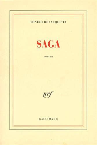 9782070749393: Saga: Roman (French Edition)