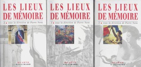 9782070749478: LES LIEUX DE MEMOIRES 3 VOLUMES (Quarto)