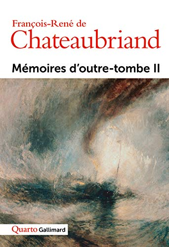 9782070750627: Memoires D'Outre-Tombe (English and French Edition)