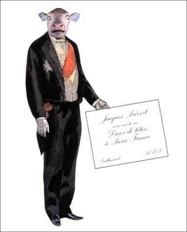 Tentative de description d'un diner de tetes a Paris, France (French Edition): Prevert, ...