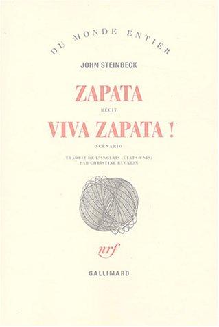 9782070751211: Zapata, suivi de