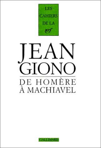 9782070751235: De Homère a Machiavel