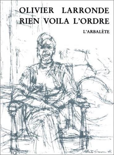 9782070751518: Rien voila l'ordre (French Edition)