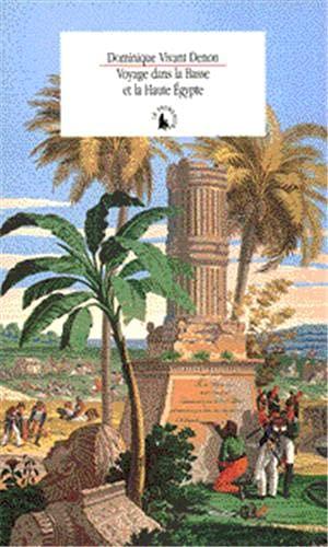 9782070752010: Voyage dans la basse et la haute Égypte pendant les campagnes du général Bonaparte