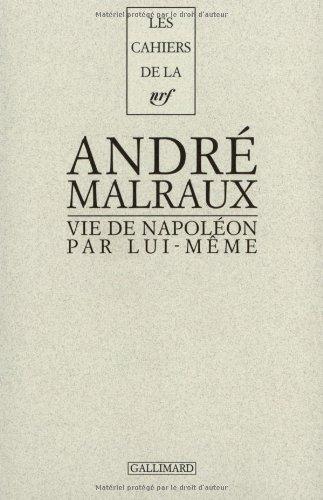 9782070753819: Vie de Napoléon par lui-même (Les cahiers de la NRF)