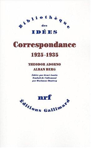 9782070755592: Correspondance 1925-1935 (French Edition)