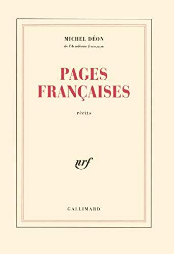 Pages françaises: D�on, Michel
