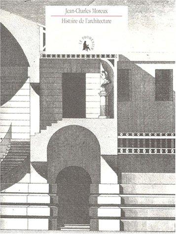 Histoire de l'architecture: Jean-Charles Moreux