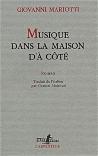 MUSIQUE DANS MON MAISON D'À CÔTÉ: MARIOTTI, GIOVANNI