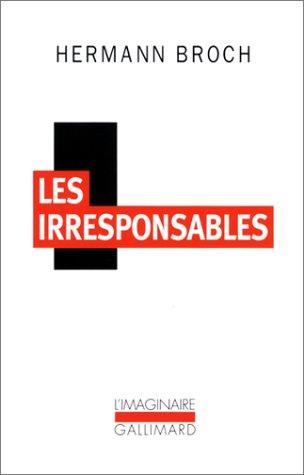 9782070760596: Les Irresponsables