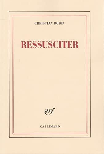 9782070760688: Ressusciter (Blanche)