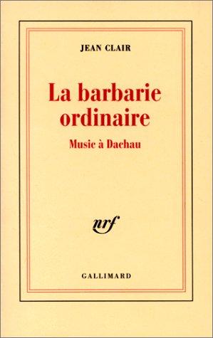 La Barbarie ordinaire: Clair, Jean
