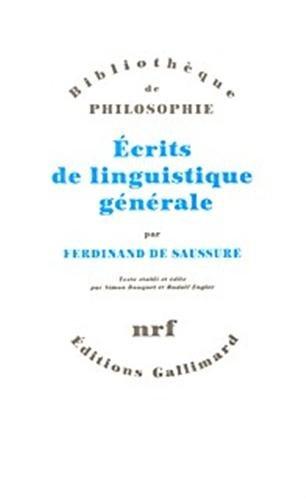 9782070761166: Ecrits de linguistique générale