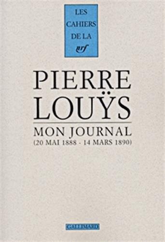 Mon journal : 22 mai 1888 -: Pierre Louÿs