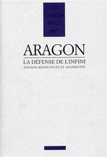 La defense de l'infini: l. Aragon