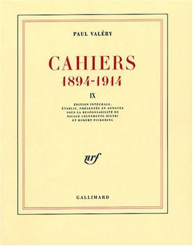 Cahiers 1894-1914 (French Edition)