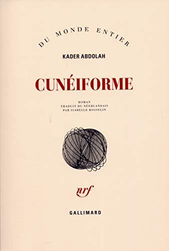 Cunéiforme: Abdolah, Kader; Rosselin, Isabelle