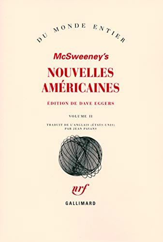 Nouvelles américaines : Tome 2: Dave Eggers