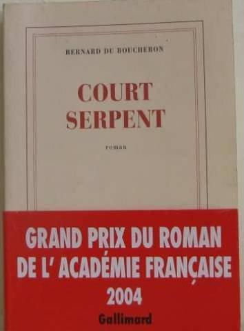 9782070771967: Court Serpent
