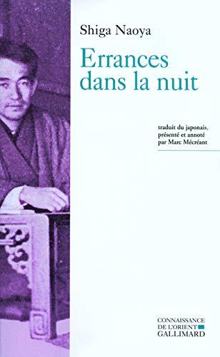 9782070772773: Errances dans la nuit (French Edition)