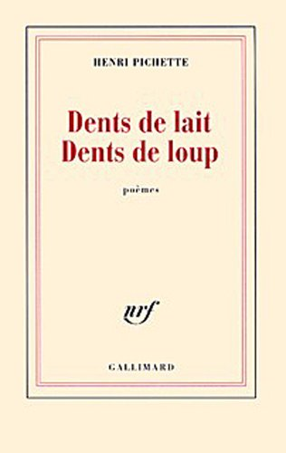 9782070773305: Dents de lait Dents de loup