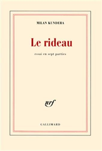 9782070774357: Le rideau (French Edition)