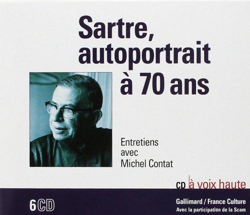 Sartre, Autoportrait a 70 Ans CD (Entretiens) (French Edition): Sartre/Contat