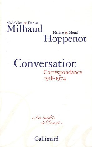 9782070774821: Conversation (French Edition)