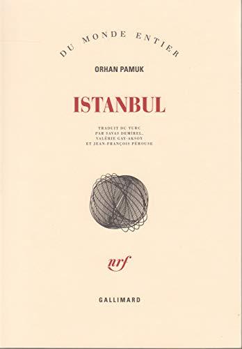 9782070776276: Istanbul: Souvenirs d'une ville (Du monde entier)