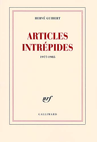 9782070780914: Articles intrépides (French Edition)
