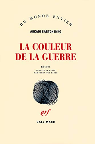 9782070782468: La couleur de la guerre (French Edition)