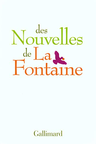 9782070782970: Des nouvelles de La Fontaine (French Edition)