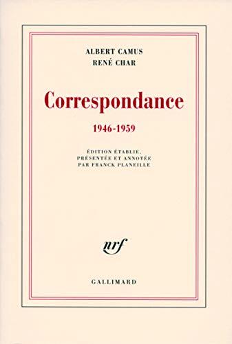 9782070783311: Correspondance: (1946-1959)