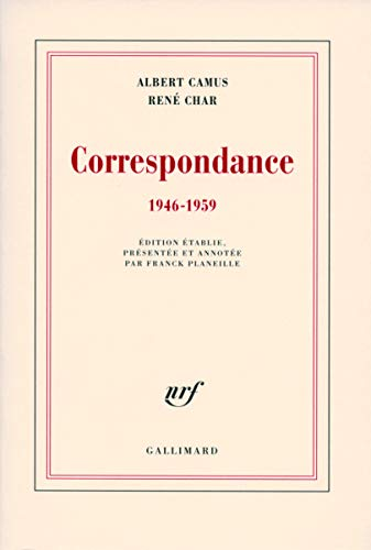 9782070783311: Correspondance (French Edition)