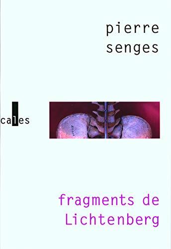 Fragments de Lichtenberg (French Edition): PIERRE SENGES