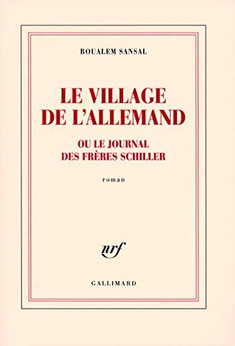 9782070786855: Le village de l'Allemand ou Le journal des frères Schiller