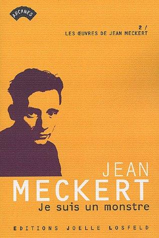 9782070789627: Je suis un monstre (French Edition)